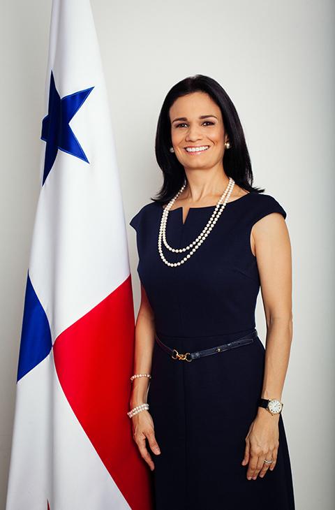 S.E. ISABEL DE SAINT MALO DE ALVARADO , VICEPRESIDENTA DE LA REPÚBLICA DE PANAMÁ